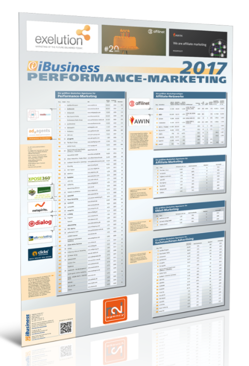 iBusiness Performance-Marketing Ranking 2017